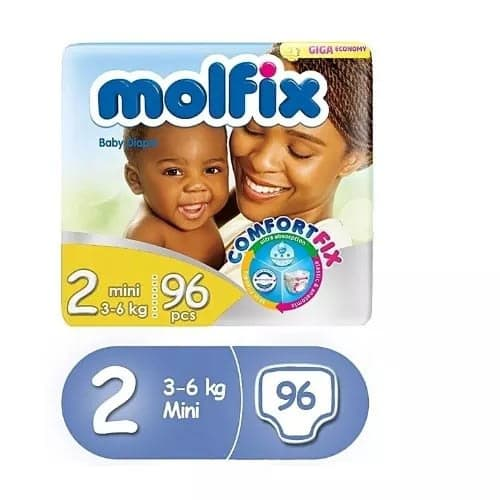 Molfix Diapers Size 2